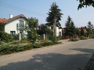 Baranowo – domy przy ul. Wypoczynkowej