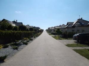 Gruszczyn - osiedle domów jednorodzinnych