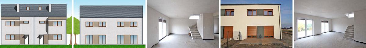 Mieszkania na sprzedaż w szeregowcu - Wiry gm. Komorniki