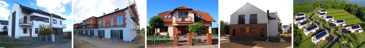 Nowe osiedla - domy w gminie Tarnowo Podgórne