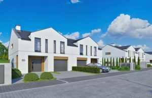 Osiedle Morasko Park - nowe domy w zabudowie bliźniaczek