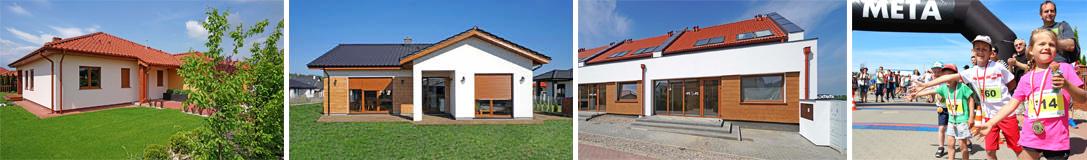 Osiedle Rozalin - nowe domy na sprzedaż