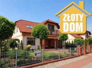 Osiedle Rozalin w Lusówku (gmina Tarnowo Podgórne) – dom jednorodzinny parterowy, wolnostojący z garażem