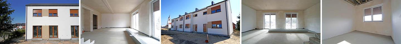 Nowe mieszkania w szeregowcu na sprzedaż - Wiry / Komorniki