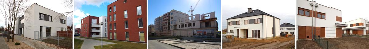 Nowe osiedla w Luboniu