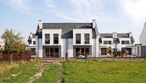 Nowe domy od dewelopera Poznań okolice Skórzewo Wysogotowo Tarnowo Podgórne mają ponad 100 m2 powierzchni. Inwestor MTG Inwest. Foto Blisko Poznania