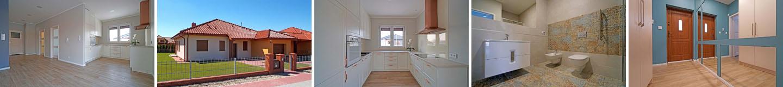 Oglądamy dom parterowy 107 m2 - Osiedle Rozalin w Lusówku
