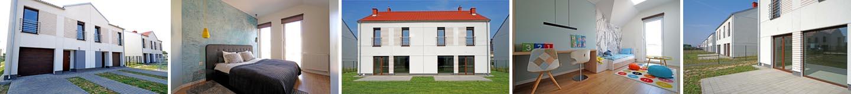 Oglądamy nowy dom bliźniak 138 m2 z garażem - Osiedle Nowe Złotniki / Suchy Las