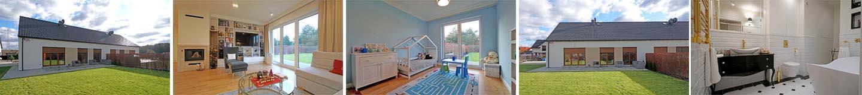 Dom parterowy 100 m2 - nowoczesny projekt dla rodziny