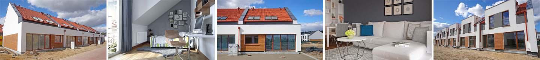 Oglądamy nowy szeregowiec - mieszkanie 89 m2 na Osiedlu Rozalin w Lusówku