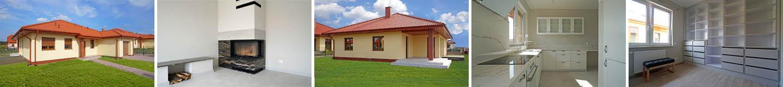Dom parterowy 138 m2 z garażem - Osiedle Rozalin / Lusówko