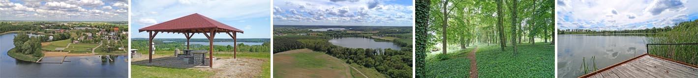Działki budowlane nad jeziorem - na sprzedaż - Białcz / Chrzypsko Wielkie
