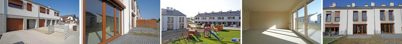 Oglądamy dom szeregowy 112 m2 - Osiedle Ziołowe / Tulce