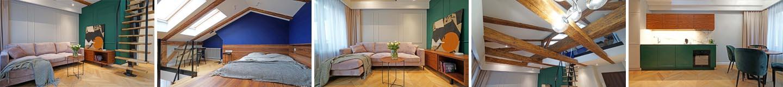 Oglądamy mieszkanie 31 m2 + antresola 10 m2 / Piotrkowska 44 w Łodzi